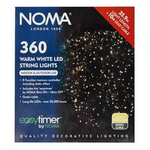 Indoor Outdoor Christmas Tree 360 LED Warm White Fairy Lights