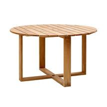 Endless Round Dining Tables 130cm - Teak