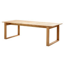 Endless Rectangular Dining Tables - Teak 240 x 100cm