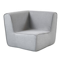 Foam Corner Seating Module - Light Grey