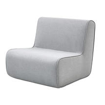 Foam Single Seating Module - Light Grey