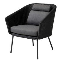 Mega Dining Chair - Graphite with Grey Cushion Set