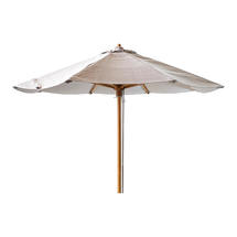 Classic Parasol Low for Peacock Daybed Diameter 2.4m - Mud