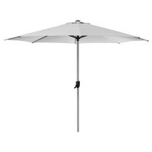 Sunshade Parasol with Crank Handle- Dusty White