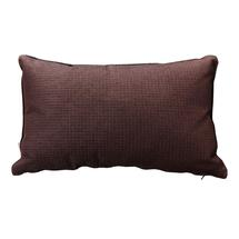 Link Outdoor Rectangular Scatter Cushion - 32x52cm - Dark Bordeaux