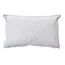 Link Outdoor Rectangular Cushions - White Grey