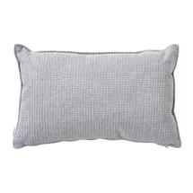 Link Outdoor Rectangular Scatter Cushion - 32x52cm - Light Grey / Grey
