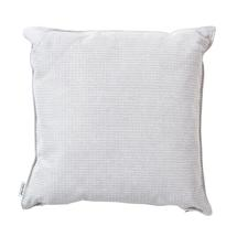 Link Outdoor Square Scatter Cushion - White Grey