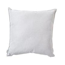 Link scatter cushion, 60x60x12 cm - Light grey/white