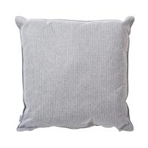 Link Large Square Cushions - 60x60cm - Light Grey / Grey