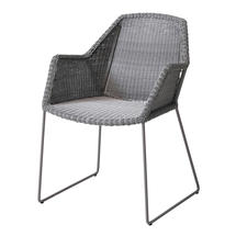 Breeze Dining Armchair - Light Grey