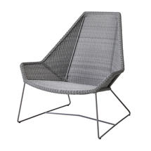 Breeze Highback Chair - Light Grey