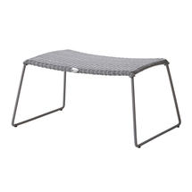 Breeze Footstool - Light Grey