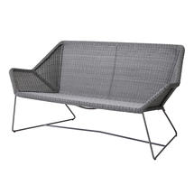 Breeze 2 Seater Lounge Sofa - Light Grey
