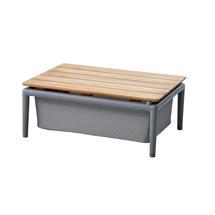 Conic Box Table - Light Grey