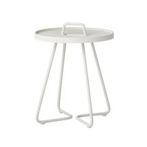 On-the-move Side Table - X-Small - White