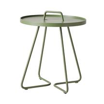 On-the-move side table small - Olive green
