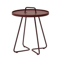 On-the-move side table small - Bordeaux