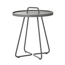 On-the-move side table small - Light grey