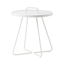 On-the-move Side Table - Small - White