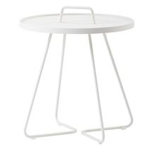 On-the-move Side Table - Large - White