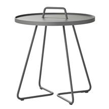 On-the-move side table large - Light grey