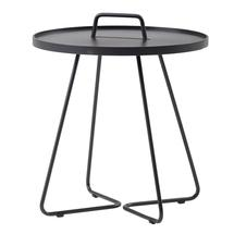 On-the-move Side Table - Large - Lava Grey