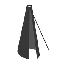 Parasol Cover For Hyde Cantilever 3 x 3 - Black