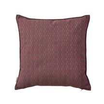 Stripe Square Scatter Cushions - 50x50cm - Multi Pink