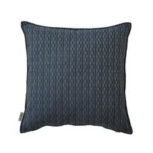 Stripe scatter cushion, 50x50x12 cm - Multi blue