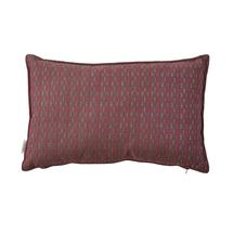 Stripe scatter cushion, 32x52x12 cm - Multi pink