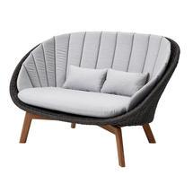 Peacock Lounge Sofa - Grey / Light Grey