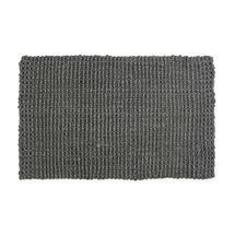 Woven Jute Doormat - Charcoal