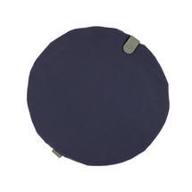 Round Chair Seat Cushion - Night Blue