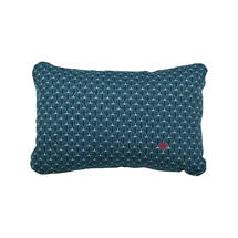 Envie D'Allieurs Pasteques Cushion 44 x 30 - Petrol Blue