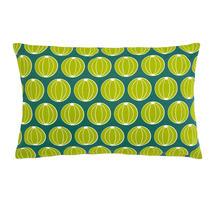 Envie D'Allieurs Melons Cushion 68 x 44 - Jade Green