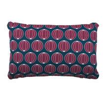 Envie D'Allieurs Melons Cushion 68 x 44 - Petrol Blue