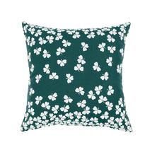 Trefle Cushion 44cm x 44cm – Cedar Green