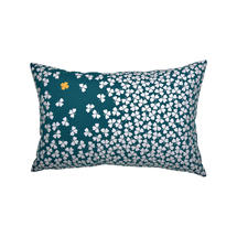 Trefle Cushion 68cm x 44cm – Duck Blue