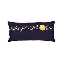 Ava Outdoor Cushions 35 x 70 - Night Blue