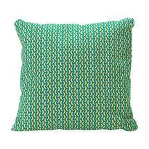 Envie D'Allieurs Bananes Cushion 70cm x 70cm – Turquoise Blue