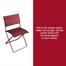 Plein Air Folding Chair - Chilli