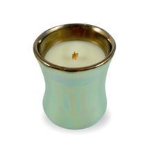 Fig Leaf and Tuberose Mini Iridescent Jar Candle