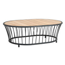 Cordial Coffee Table with Roble Top