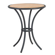 Cordial Bistro Table with Roble Top