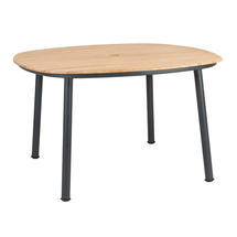 Cordial 120cm Dining Table with Roble Top
