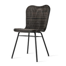 Lena Dining Chair with Steel Legs