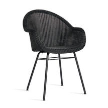 Edgard Dining Chair with Steel Legs