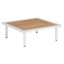 Beach Side Table with Roble Top