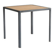 Fresco Square Dining Tables with Roble Top